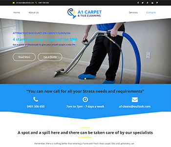 A1 Carpet & Tile Cleaning
