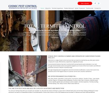 Cosmic Pest Control